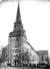 Eglise Saint-Genès (anciennement église prieurale Saint-Etienne) - Ensemble ouest