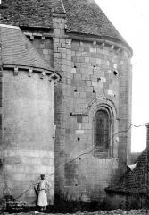 Eglise Saint-Genès (anciennement église prieurale Saint-Etienne) - Abside, côté sud