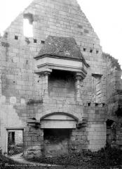 Château - Château du Milieu, Grand Logis : Vue intérieure de la salle des Trophées