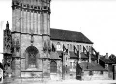 Eglise Saint-Martin (ancienne collégiale) - Façade sud
