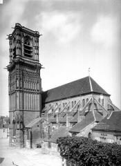 Eglise Saint-Martin (ancienne collégiale) - Ensemble sud-est