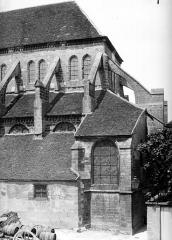 Eglise Saint-Martin (ancienne collégiale) - Abside, côté sud