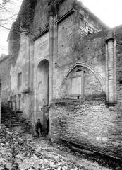 Ancienne abbatiale Saint-Pierre de Flavigny - Extérieur