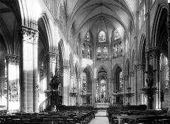Eglise Notre-Dame-des-Ardents et Saint-Pierre - Nef, choeur