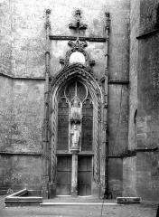 Ancienne abbaye Saint-Martin - Eglise, portail
