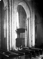 Eglise Notre-Dame-et-Saint-Junien - Travée de la nef