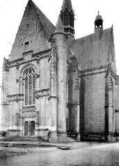 Eglise paroissiale Saint-Jean-Baptiste - Façade ouest