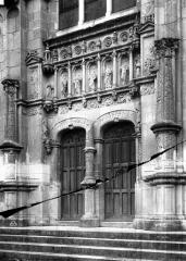 Eglise paroissiale Saint-Jean-Baptiste - Portail ouest