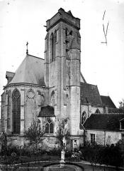 Eglise (ancienne église collégiale) - Abside et clocher