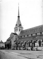 Eglise Notre-Dame la Blanche - Façade nord, partie
