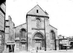 Ancienne église Saint-Pierre-au-Parvis - Façade ouest