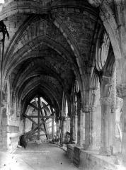 Ancienne abbaye de Saint-Jean-des-Vignes - Cloître, galerie nord