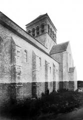 Eglise Saint-Loup - Façade nord, partie