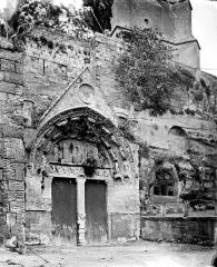 Eglise souterraine monolithe (ancienne église paroissiale Saint-Emilion) - Portail