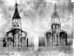 Eglise Notre-Dame - Dessin
