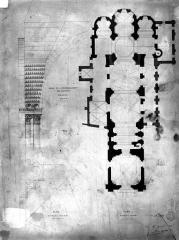 Ancienne collégiale Saint-Ours - Plan général