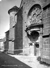 Eglise Saint-Phal d'Avirey - Porte sud
