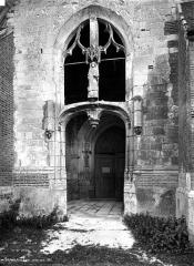 Eglise Saint-Laurent - Porche ouest