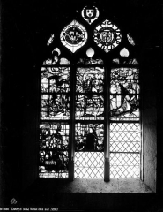 Eglise Saint-Loup - Vitrail, bas-côté sud
