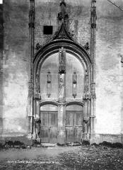 Eglise - Portail ouest