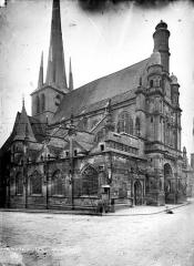 Eglise Saint-Pierre-ès-Liens de Riceys-Bas - Ensemble nord-ouest