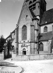Eglise Saint-Jean Baptiste de Ricey-Haute-Rive - Côté sud