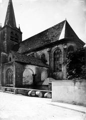 Eglise Saint-Jean Baptiste de Ricey-Haute-Rive - Côté nord-est