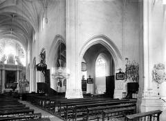 Eglise Saint-Jean Baptiste de Ricey-Haute-Rive - Nef, bas-côté