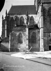 Eglise Saint-Jean Baptiste de Ricey-Haute-Rive - Côté nord