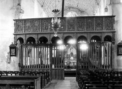 Eglise de l'Assomption de la Vierge - Jubé, côté de la nef