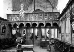 Eglise de l'Assomption de la Vierge - Jubé, côté du choeur