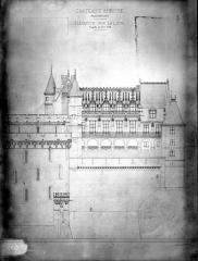 Château - Elévation sur la Loire
