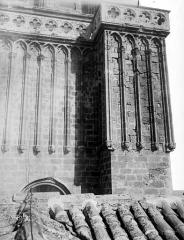 Ancienne cathédrale Saint-Nazaire et cloître Saint-Nazaire - Clocher, détail