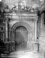 Eglise Saint-Pierre-ès-Liens de Riceys-Bas - Façade ouest, porte gauche