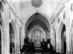 Eglise Saint-Pierre-ès-Liens de Riceys-Bas - Nef, vue de l'entrée