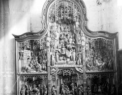 Eglise Saint-Pierre-ès-Liens de Riceys-Bas - Retable de La Vie du Christ