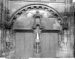 Eglise Saint-Jean Baptiste de Ricey-Haute-Rive - Portail ouest