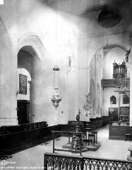 Eglise Saint-Jean Baptiste de Ricey-Haute-Rive - Nef, vue du choeur