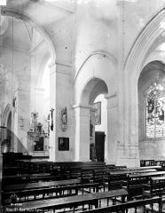 Eglise Saint-Jean Baptiste de Ricey-Haute-Rive - Bas-côté de la nef, sud