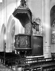 Eglise Saint-Jean Baptiste de Ricey-Haute-Rive - Chaire