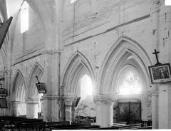 Eglise Saint-Pierre - Travées de la nef