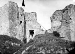 Château de Beaufort-en-Vallée (ruines) - Grand escalier