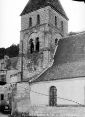 Eglise des Tuffeaux - Base du clocher