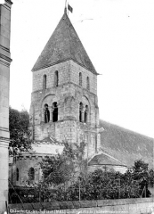 Eglise des Tuffeaux - Clocher, abside