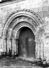 Eglise des Tuffeaux - Portail nord