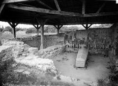 Camp romain (restes) - Thermes, partie