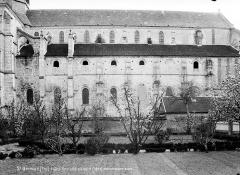 Eglise et chapelle - Façade nord