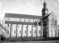 Eglise et chapelle - Façade sud