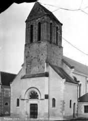 Ancienne abbaye Saint-Sauveur - Côté ouest