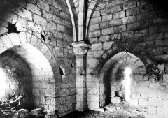 Château du Coudray-Salbart - Tour du moulin, intérieur